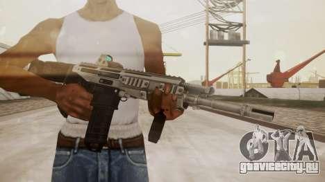 Bushmaster ACR Silver для GTA San Andreas третий скриншот