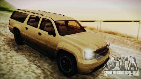 GTA 5 Declasse Granger SA Style для GTA San Andreas вид сзади