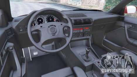 BMW M5 (E34) 1991 для GTA 5 вид справа