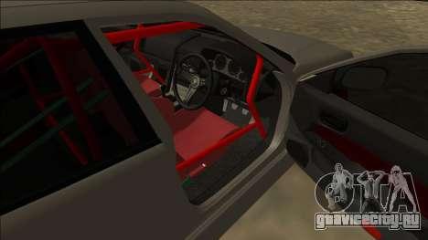Nissan Skyline ER34 Drift для GTA San Andreas вид сзади слева