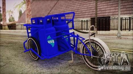 Bici Colgas для GTA San Andreas вид слева