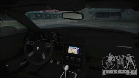 Dodge Challenger Daytona для GTA San Andreas вид справа