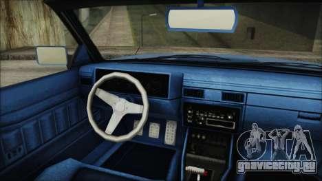 GTA 5 Willard Faction Custom IVF для GTA San Andreas вид сзади слева
