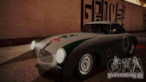 Mercedes-Benz 300 SL (W194) 1952 HQLM для GTA San Andreas вид сзади