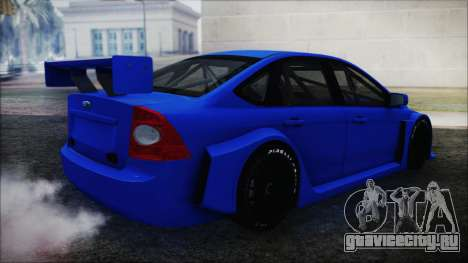 Ford Focus Sedan 2009 Touring v1 для GTA San Andreas вид сзади слева