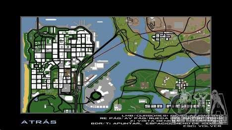HD радар карта для GTA San Andreas третий скриншот
