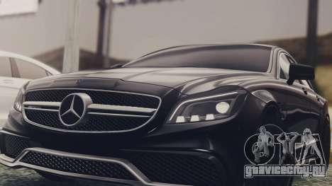 Mercedes-Benz CLS 63 AMG W218 для GTA San Andreas вид справа