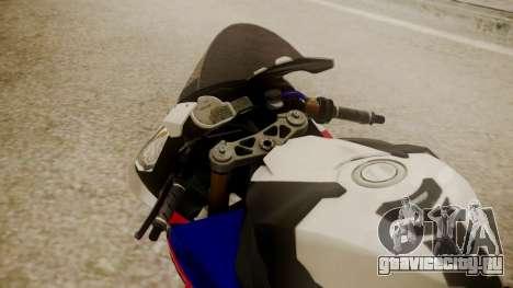 BMW S1000RR Limited для GTA San Andreas вид сзади