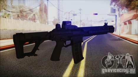 SOWSAR-17 Type G Assault Rifle для GTA San Andreas третий скриншот