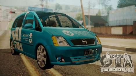 Chevrolet Meriva de Seguridad Vial для GTA San Andreas