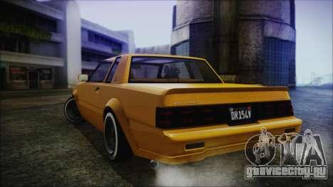 GTA 5 Willard Faction Custom Bobble Version IVF для GTA San Andreas вид слева