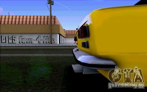 ВАЗ 2101 для GTA San Andreas вид сзади