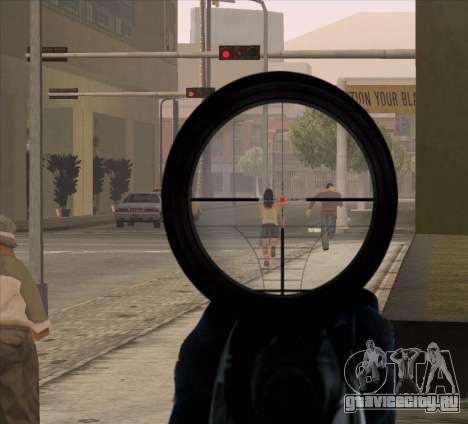 Sniper Scope v2 для GTA San Andreas