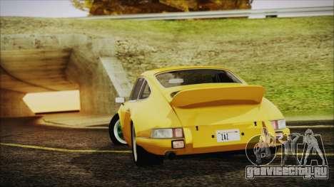 Porsche 911 Carrera RS 2.7 (901) 1973 для GTA San Andreas вид слева