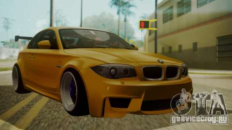 BMW 1M E82 without Sunroof для GTA San Andreas