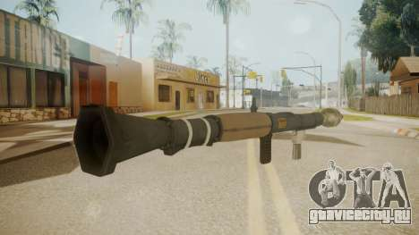 GTA 5 Rocket Launcher для GTA San Andreas второй скриншот