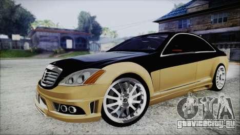 Carlsson Aigner CK65 RS v1 для GTA San Andreas