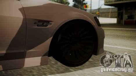 Chevrolet Lumina SS 2011 K.N Edition для GTA San Andreas вид сзади слева