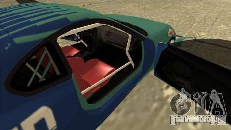 Toyota Supra Falken Drift для GTA San Andreas вид сзади