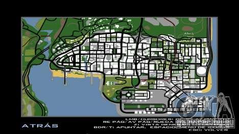 HD радар карта для GTA San Andreas