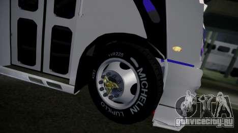 Mercedes-Benz Ayco Zafiro Influyente для GTA San Andreas вид сзади