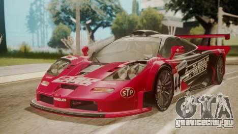 McLaren F1 GTR 1998 Team Lark для GTA San Andreas