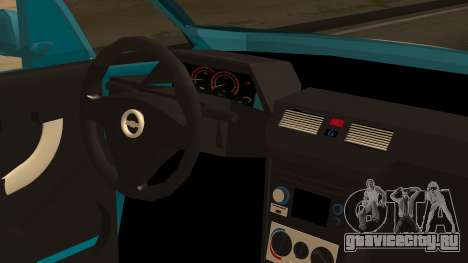 Chevrolet Meriva de Seguridad Vial для GTA San Andreas вид сзади