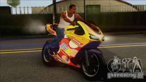 GTA 5 Bati HD для GTA San Andreas вид справа