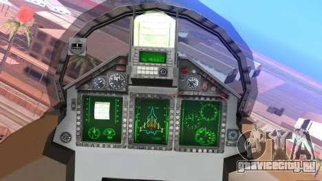 Mikoyan MIG 1.44 Flatpack Venezuelan Air Force для GTA San Andreas вид справа