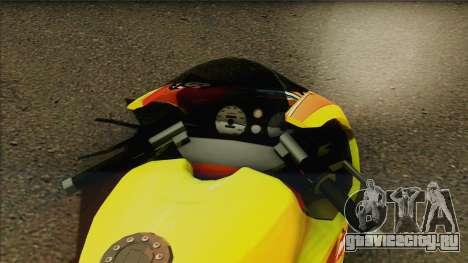 GTA 5 Bati HD для GTA San Andreas вид сзади слева