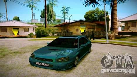 Subaru Impreza WRX STI Wagon для GTA San Andreas