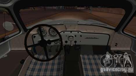 Mercedes-Benz 300 SL (W194) 1952 IVF АПП для GTA San Andreas вид изнутри