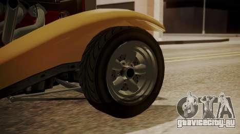 GTA 5 Albany Franken Stange для GTA San Andreas вид сзади слева