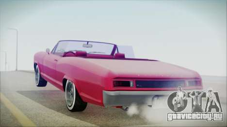 GTA 5 Albany Buccaneer Custom IVF для GTA San Andreas вид слева
