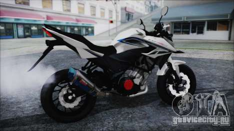 Honda CB150R White для GTA San Andreas