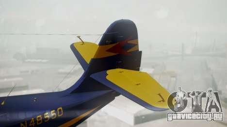 Grumman G-21 Goose N48550 для GTA San Andreas вид сзади слева