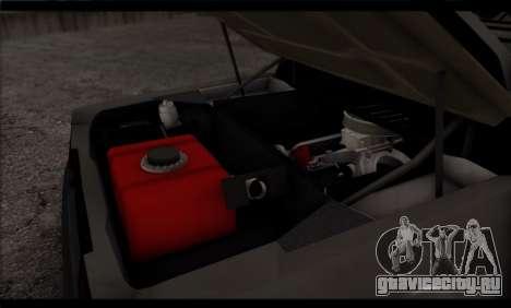 BMW M1 E26 Rusty Rebel для GTA San Andreas вид снизу