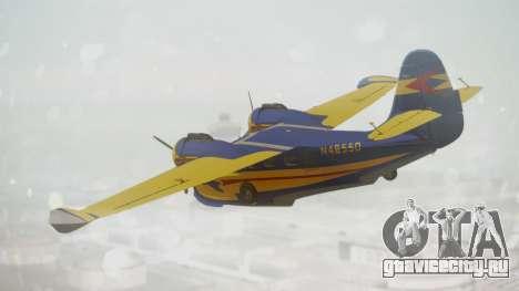 Grumman G-21 Goose N48550 для GTA San Andreas вид слева
