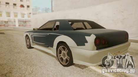 Elegy FnF Skins для GTA San Andreas вид сверху