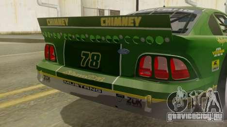 Ford Mustang Cobra 1994 TransAm для GTA San Andreas вид сзади