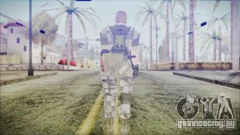 MGSV Phantom Pain Snake Normal Animals для GTA San Andreas третий скриншот