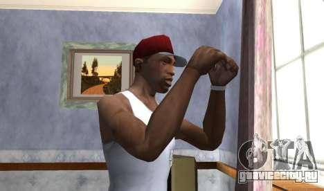 Wear the Cap для GTA San Andreas