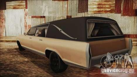 GTA 5 Albany Lurcher для GTA San Andreas вид слева