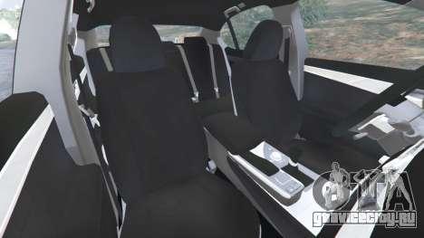 Lexus GS 350 F-Sport 2013 для GTA 5 вид справа