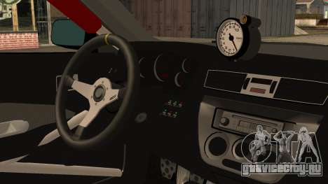 Mitsubishi Lancer Evolution Pushkar для GTA San Andreas вид справа