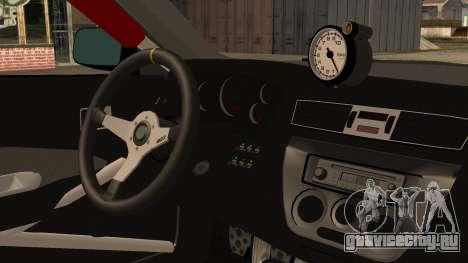Mitsubishi Lancer Evolution Pushkar для GTA San Andreas вид справа
