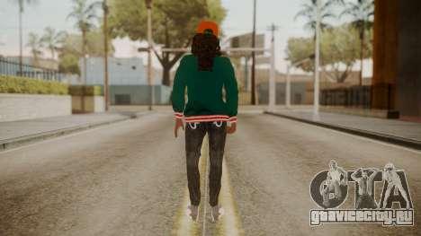 Home Girl Cat для GTA San Andreas третий скриншот