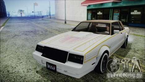 GTA 5 Willard Faction Custom Bobble Version IVF для GTA San Andreas вид изнутри