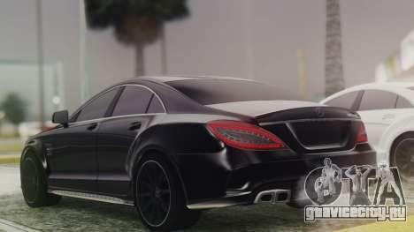 Mercedes-Benz CLS 63 AMG W218 для GTA San Andreas вид слева