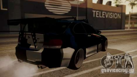 BMW 1M E82 with Sunroof для GTA San Andreas вид снизу